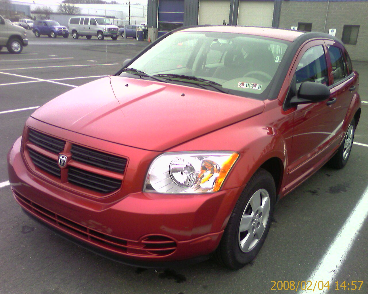 review 2008 dodge caliber se a fool and his words are. Black Bedroom Furniture Sets. Home Design Ideas
